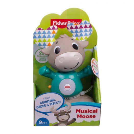 Інтерактивна іграшка Fisher-Price Веселий лось серії Linkimals (укр) (GXR01)купити