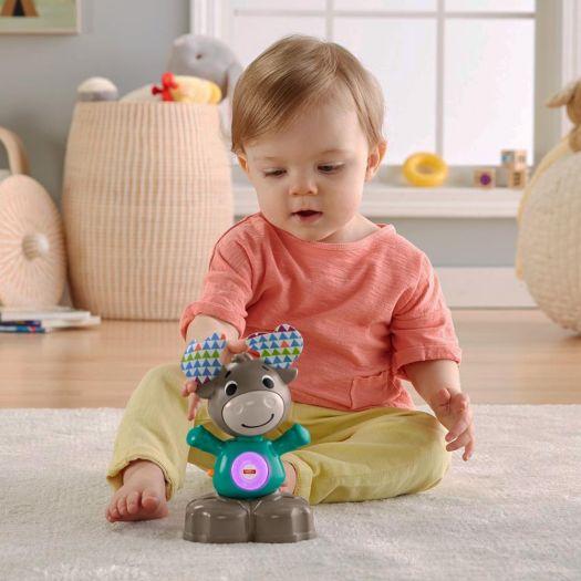 Інтерактивна іграшка Fisher-Price Веселий лось серії Linkimals (укр) (GXR01)замовити