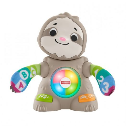 Інтерактивна іграшка Fisher-Price Танцюючий лінивець серії Linkimals (укр) (GXR58)замовити