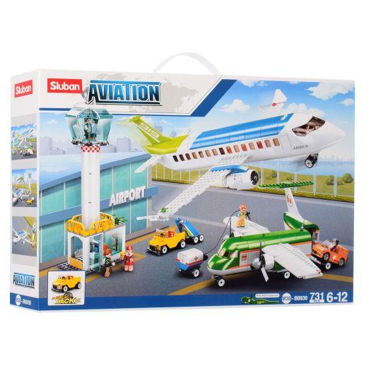 Конструктор SLUBAN Aviation Аеропорт (M38-B0930)замовити