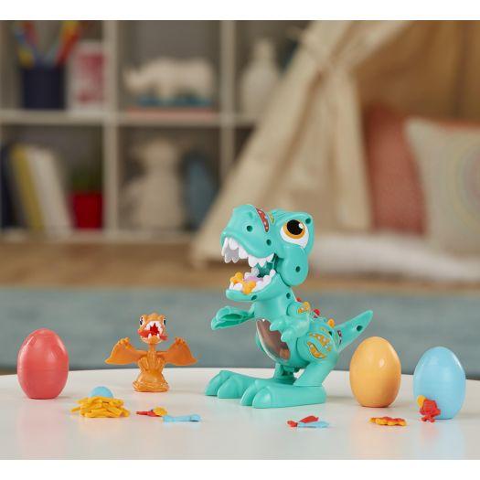 Набір для творчості з пластиліном Play-Doh Ті Рекс (F1504)замовити