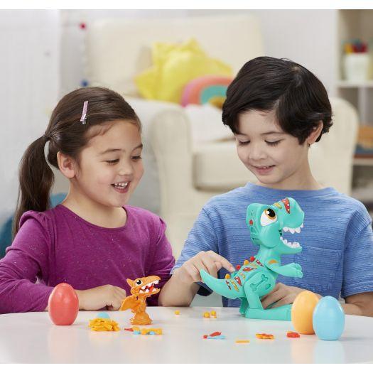 Набір для творчості з пластиліном Play-Doh Ті Рекс (F1504)в Україні