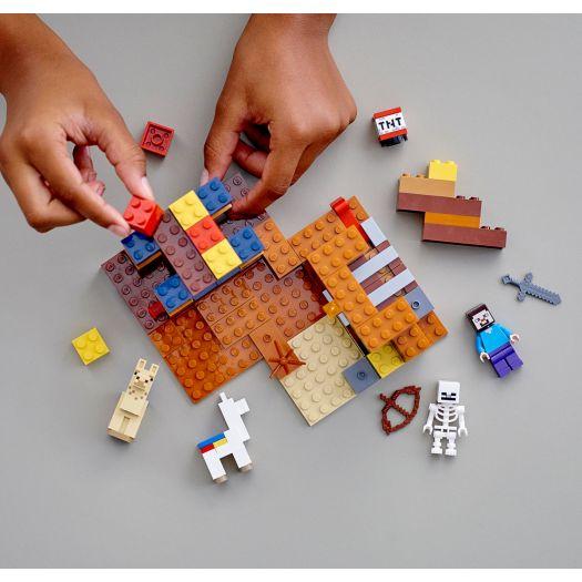 Конструктор LEGO Minecraft Торговий пост (21167)купити