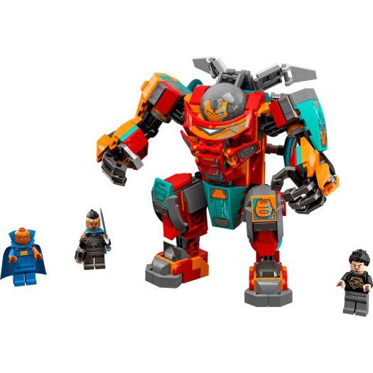 Конструктор LEGO Super Heroes Залізна Людина Людина-саакарієць Тоні Старка (76194)купити