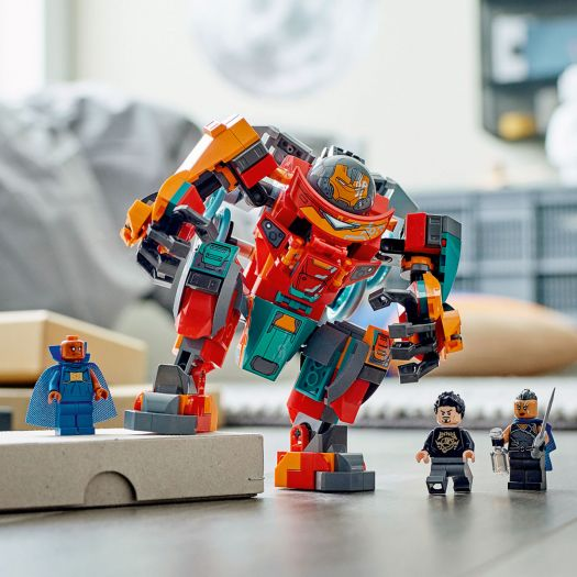 Конструктор LEGO Super Heroes Залізна Людина Людина-саакарієць Тоні Старка (76194)в Україні