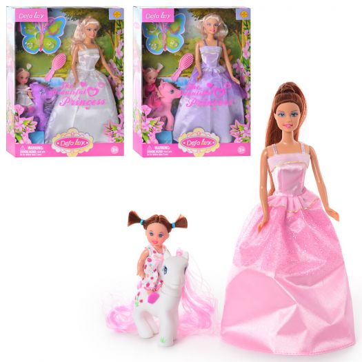 Лялька DEFA Принцеса з донькою в асорт. (8077)в Україні